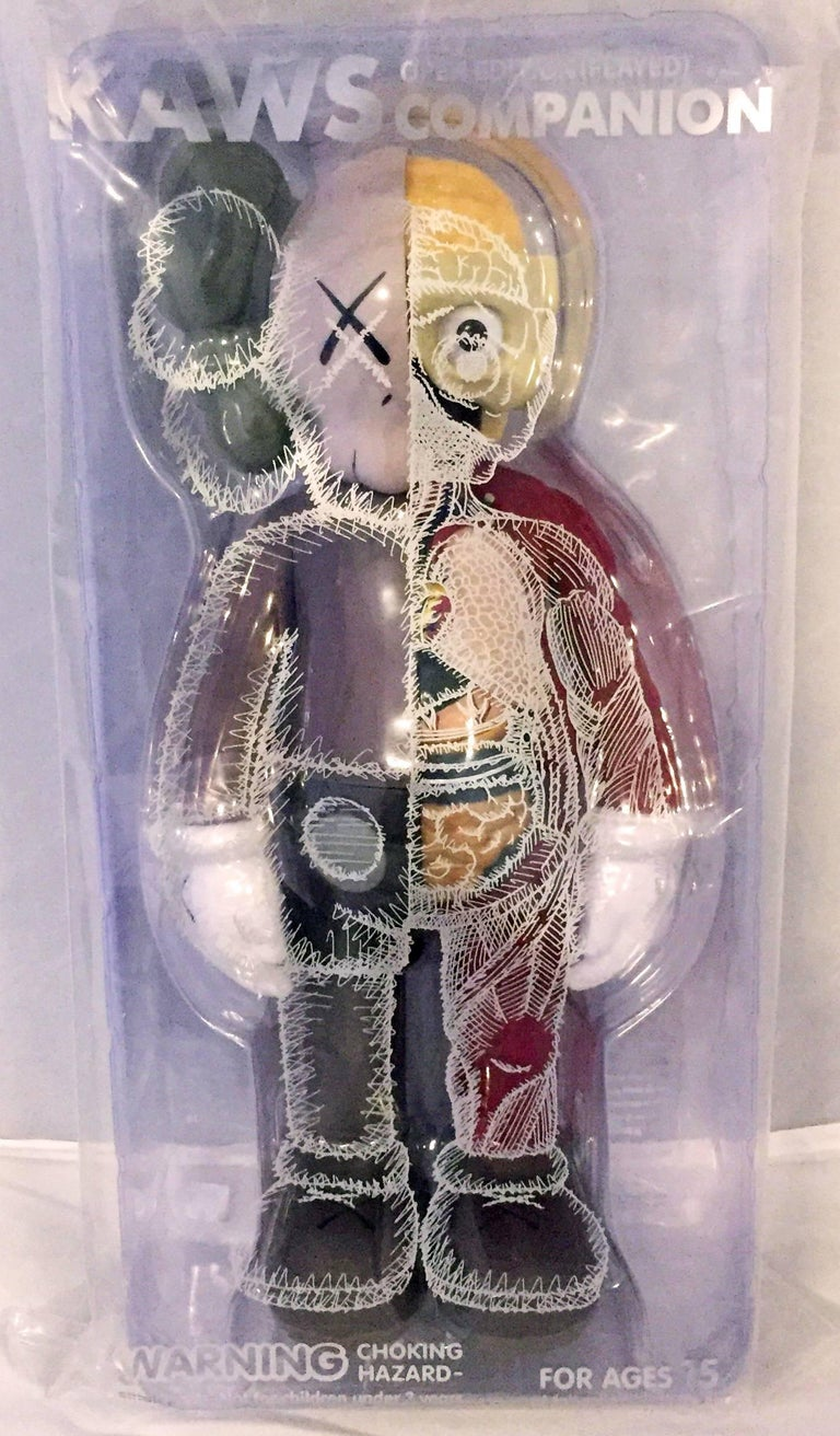 KAWS Companion 2016, Complete Set of 6. New and sealed in original packaging. Published by Medicom Japan in conjunction with the exhibition, KAWS: Where The End Starts at the Modern Art Museum of Fort Worth. These figurines have since sold out. Set
