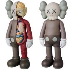 KAWS Companions 2016: set of 2 (KAWS brown companions)