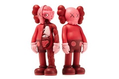KAWS Companions, set of 2, Blush, Full and Flayed (2016)