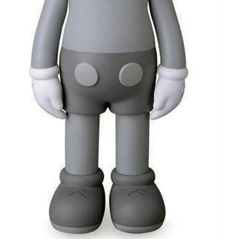 KAWS Companions, set of 2, Grey, Full and Flayed (2016) For Sale 4