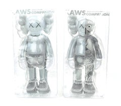 KAWS Companions, set of 2, Grey, Full and Flayed (2016)