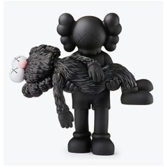 KAWS GONE Companion Black (KAWS black gone companion)
