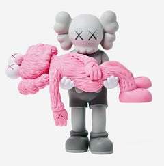 KAWS GONE Grey (KAWS grey pink gone companion)