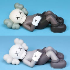 KAWS Holiday Companion Japan: set of 2 works (KAWS Mount Fuji Japan)