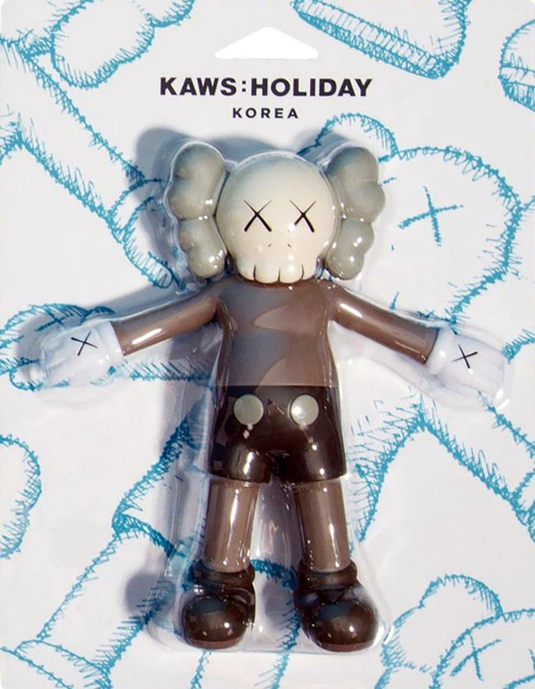 KAWS Holiday Companion (KAWS brown companion) For Sale 1