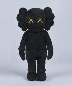 KAWS Holiday Plush Companion (KAWS black plush)