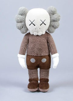 KAWS Holiday Plush Companion (KAWS plush brown)