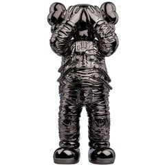 """KAWS, Holiday Space: 11.5"""" 20th Anniversary Edition in Black and Polyurethane,"""