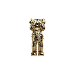 """KAWS, Holiday Space: 11.5"""" 20th Anniversary Edition in Gold and Polyurethane,"""