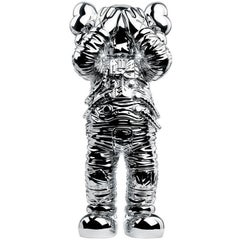 """KAWS, Holiday Space: 11.5"""" 20th Anniversary Edition in Silver and Polyurethane"""