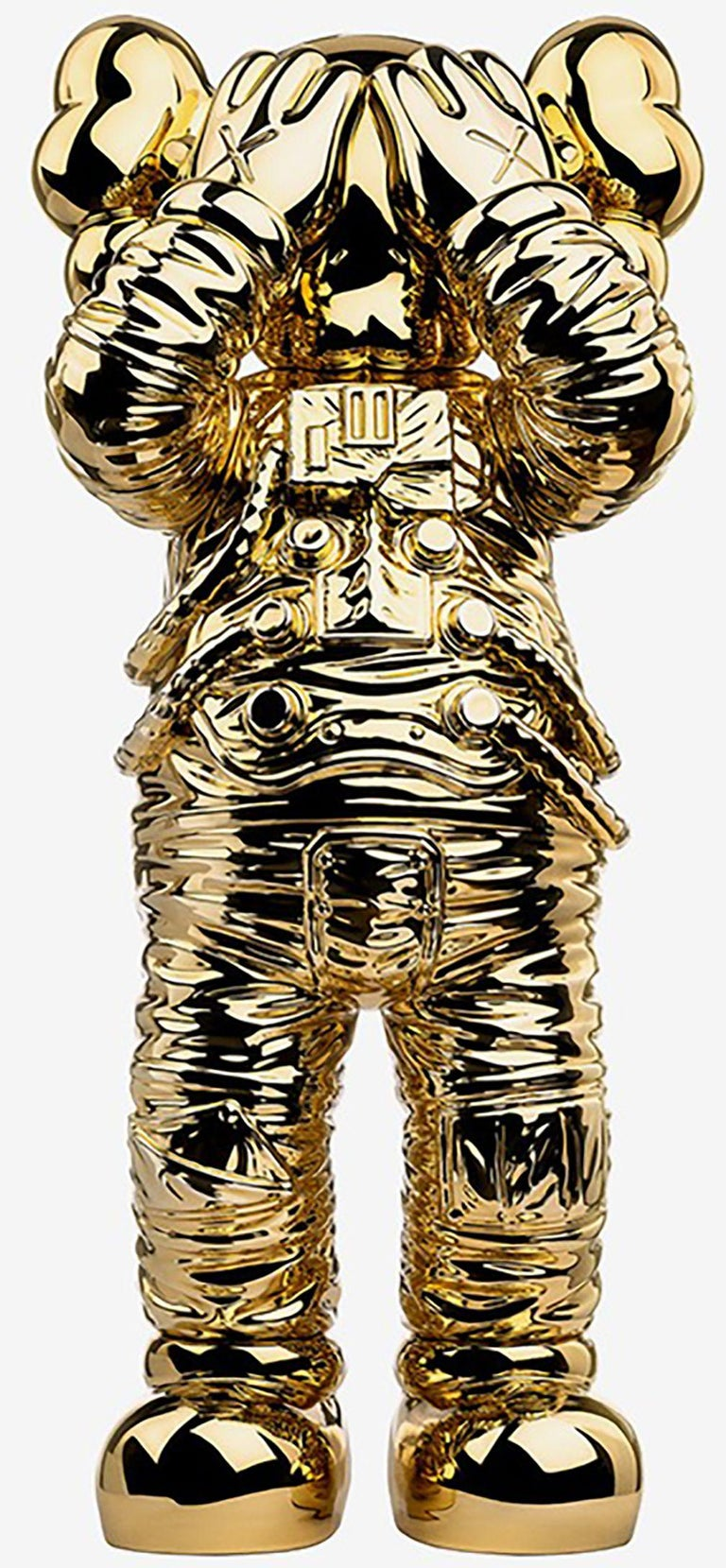 KAWS Holiday SPACE: set of 2 works (KAWS silver gold space)  For Sale 1
