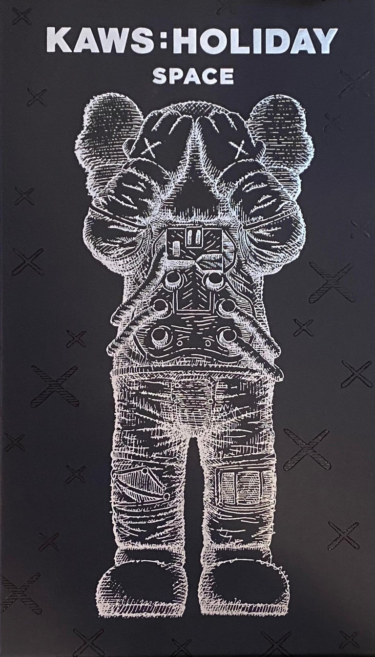 KAWS Holiday SPACE: set of 2 works (KAWS silver gold space)  For Sale 3