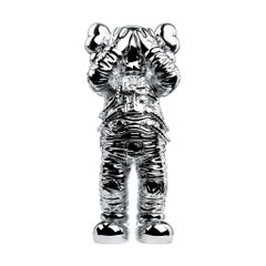 KAWS -  Holiday: Space - Silver - Pop Art