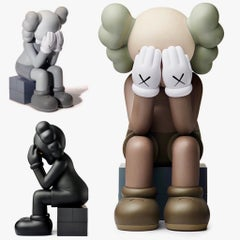 KAWS Passing Through Companion Set (complete set of three; 2018)