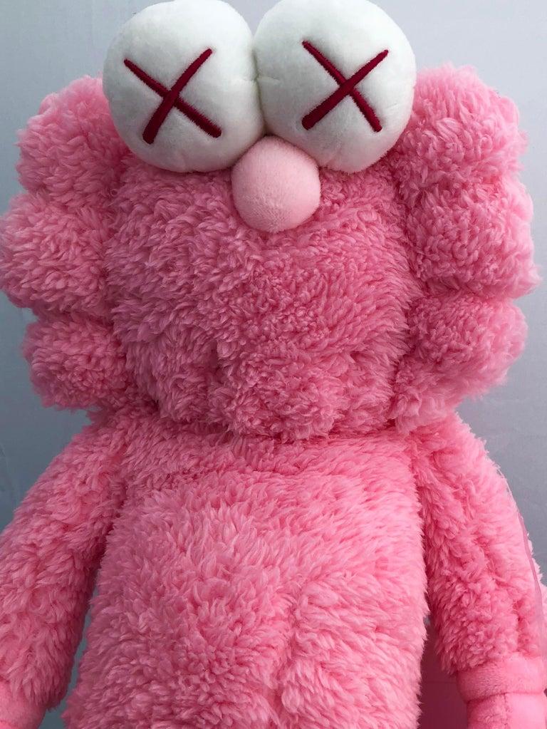 KAWS Pink BFF Plush (Kaws BFF plush limited edition) For Sale 3