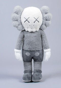 KAWS Plush Companion (KAWS plush grey)