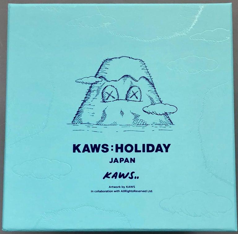 KAWS plush Holiday Japan (KAWS mount fuji)  - Pop Art Print by KAWS