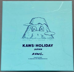 KAWS plush Holiday Japan (KAWS mount fuji)