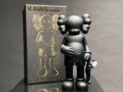 'KAWS SHARE, 20' Open Edition Vinyl Art Toy, Black