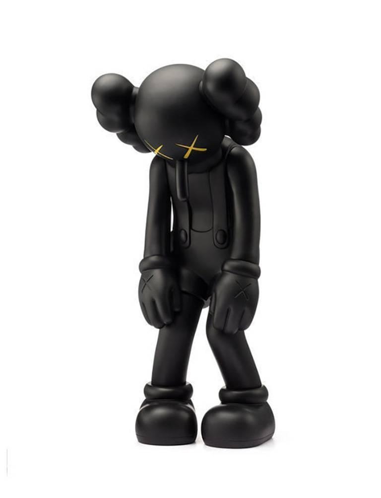 KAWS Small Lie Black (Black KAWS Small Lie Companion) - Pop Art Print by KAWS