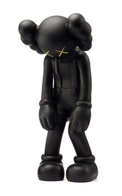KAWS SMALL LIE Black (Black KAWS Small Lie Companion)