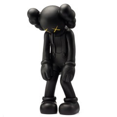 KAWS: Small Lie (Black) - Vinyl Sculpture. Urban, Street art, Pop Art
