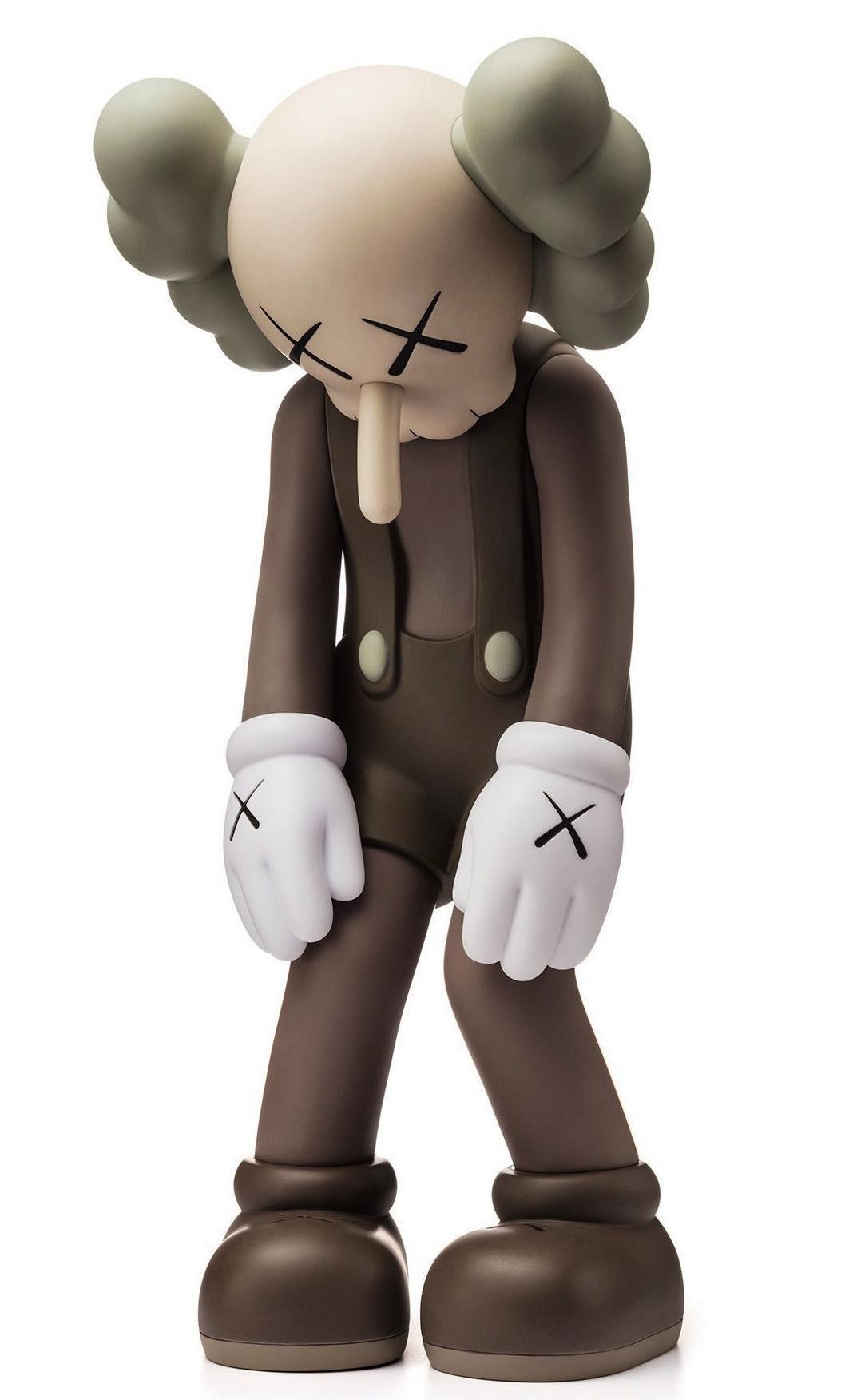 KAWS SMALL LIE Brown  (brown KAWS Companion)