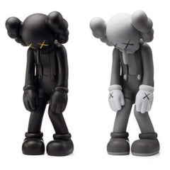 KAWS Small Lie complete set of 2 (KAWS companion)