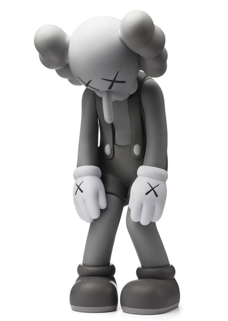 KAWS Small Lie Grey (KAWS Small Lie Companion) - Sculpture by KAWS