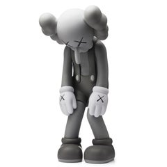 KAWS: Small Lie (Grey) - Original Vinyl Sculpture, Street art, Pop Art