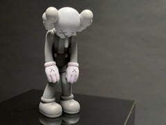 KAWS 'Small Lie' Vinyl Art Toy, Gray, 2017