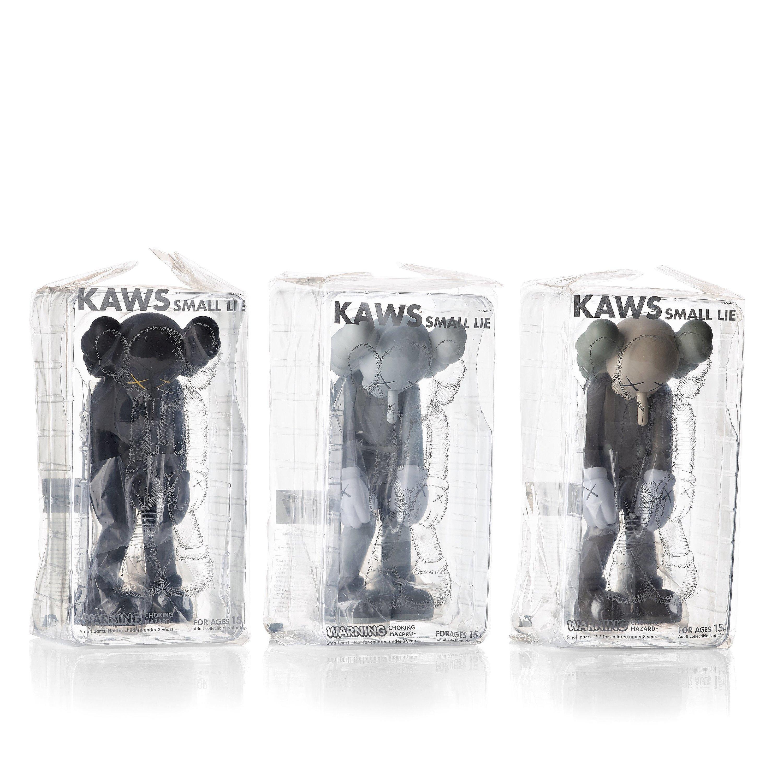 KAWS Small Lies Sculptures Set of 3 2017 Brooklyn Street Art Contemporary