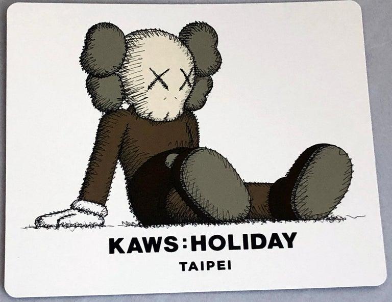 KAWS Taipei Holiday Companion Brown (KAWS Brown Companion)  2