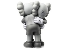 """KAWS Together"" Companion Vinyl Grey Edition Contemporary Art, Street Art 2018"