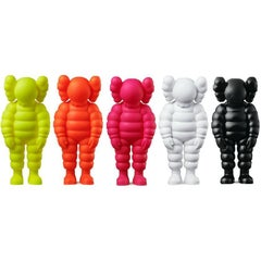 KAWS, What Party - Chum (Full set of 5), Sculpture, 2020
