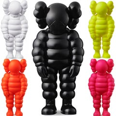 KAWS WHAT PARTY complete set of 5 (KAWS Companion set)
