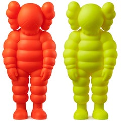 KAWS WHAT PARTY set of 2 works (KAWS Companion set)