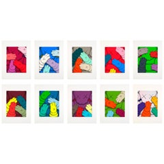 "KAWS ""Urge"" Portfolio of 10 Silkscreens with Additional Silkscreened Title Page"