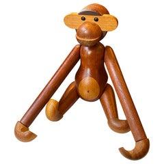 Kay Bojesen Articulated Teak Monkey