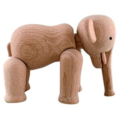 Kay Bojesen, Denmark, Elephant in Oak, Danish Design, 20th-21st Century