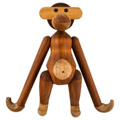 Kay Bojesen, Denmark, Wooden Monkey, Danish Design, 20th-21st Century