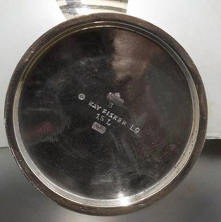 Kay Fisker Danish Modern Sterling Silver Pitcher In Good Condition For Sale In Atlanta, GA