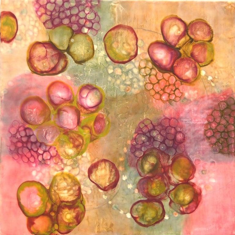 Bio Flow 5 - Mixed Media Art by Kay Hartung