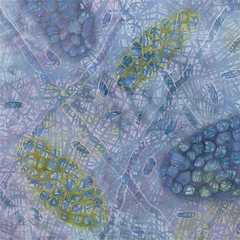 Bio Patterns 8 - Painting by Kay Hartung