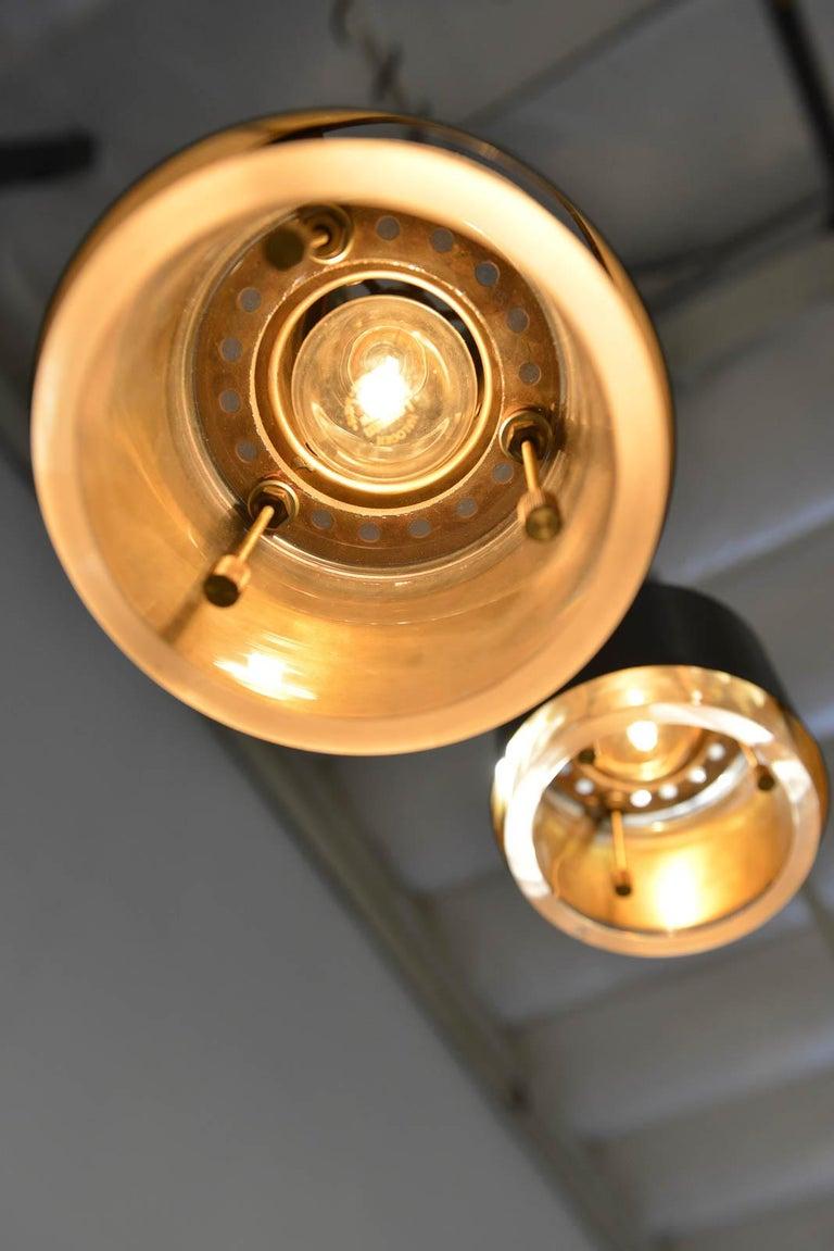 Kay Korbing for Lyfa Denmark Pendant Lights, circa 1960 For Sale 3