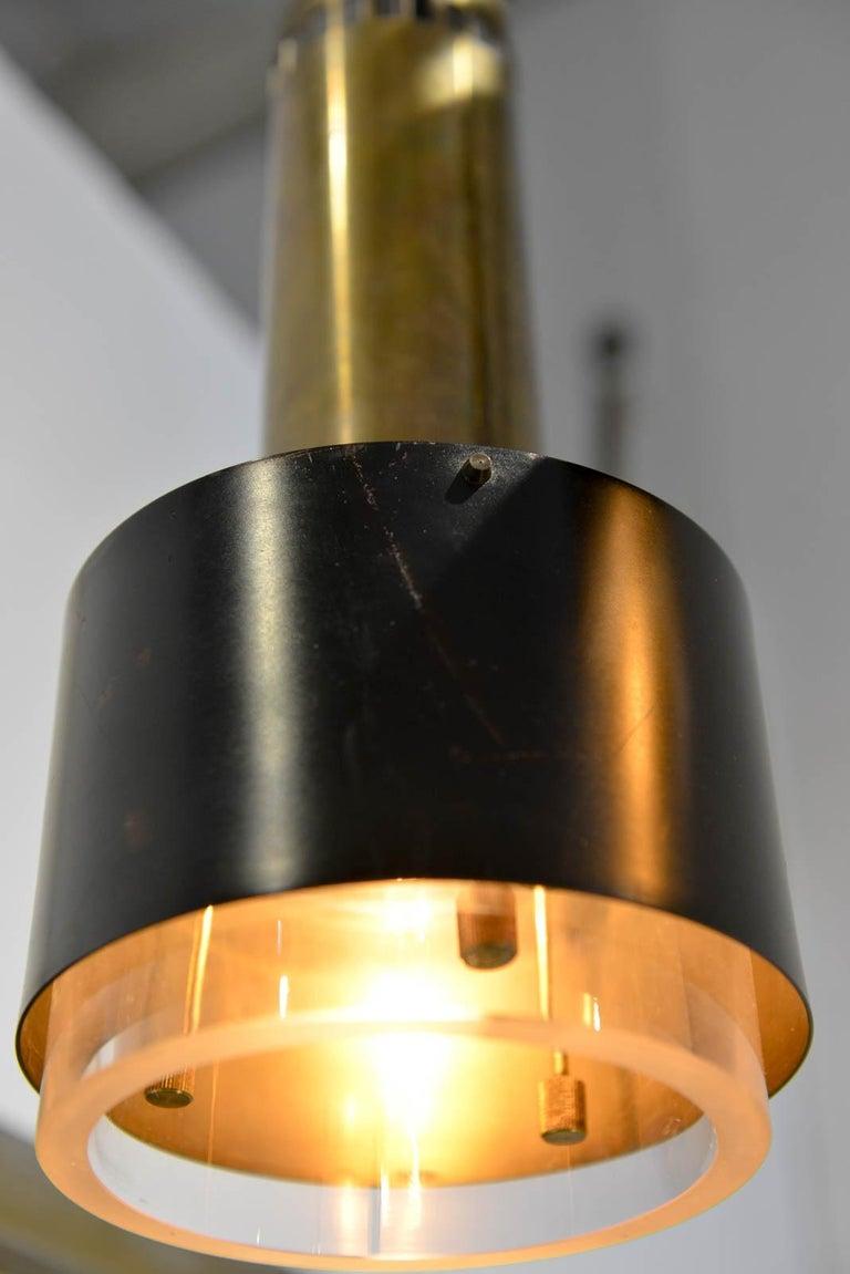 Kay Korbing for Lyfa Denmark Pendant Lights, circa 1960 For Sale 4