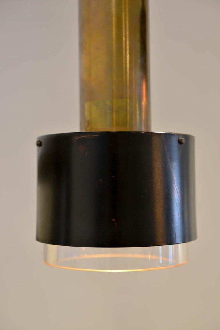 Kay Korbing for Lyfa Denmark Pendant Lights, circa 1960 In Good Condition For Sale In Costa Mesa, CA