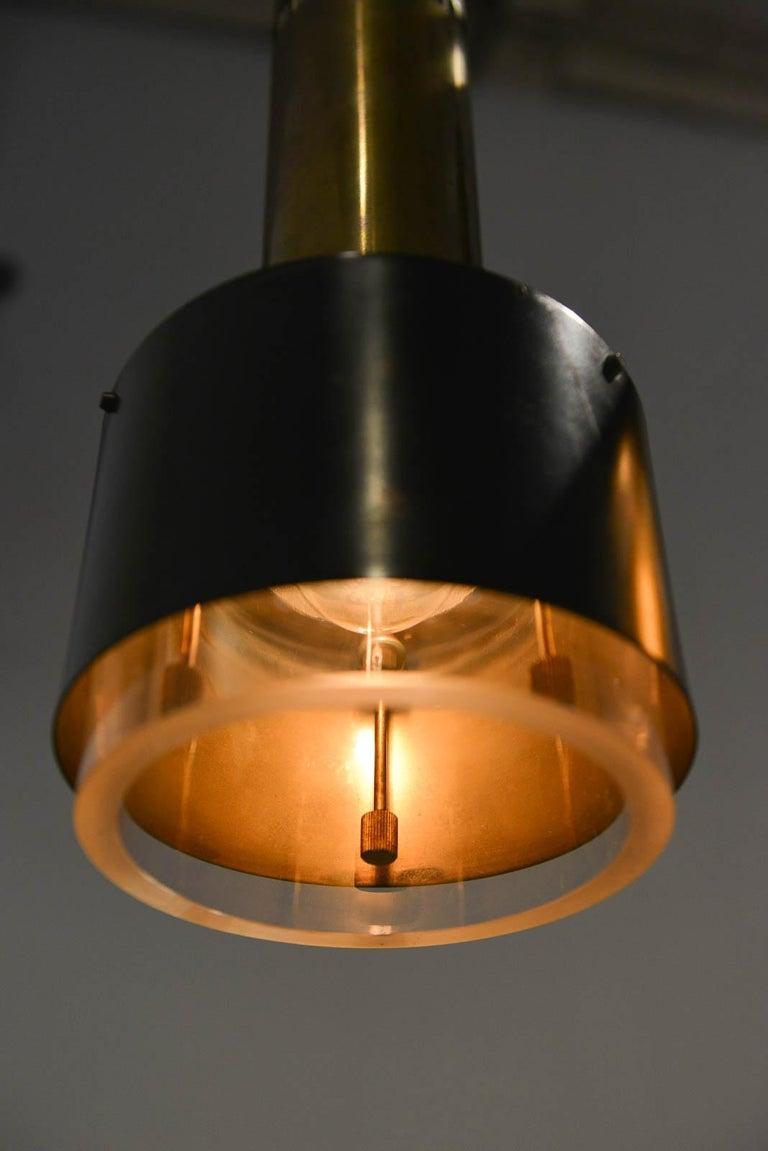 Kay Korbing for Lyfa Denmark Pendant Lights, circa 1960 For Sale 1