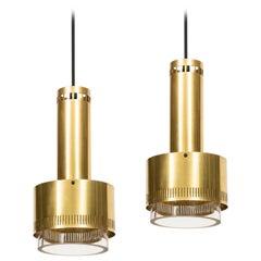 Kay Kørbing Ceiling Lamps Produced by Lyfa in Denmark