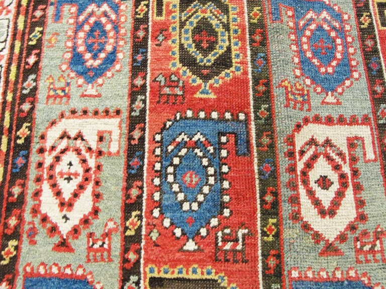 Kazak Antique Caucasian Rug 3